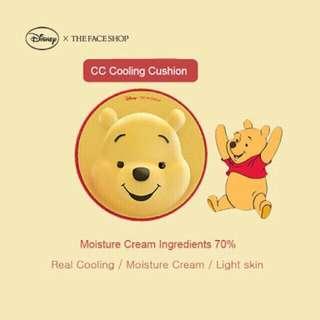 The Face Shop Disney CC Long Stay Cushion (Pooh)