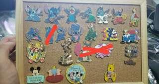 迪士尼徽章 disney trading pin