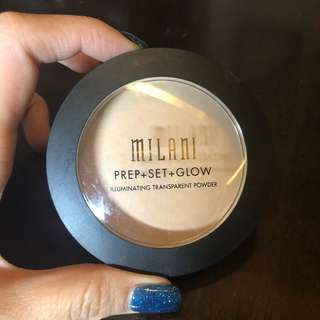 Milani illuminating transparent powder