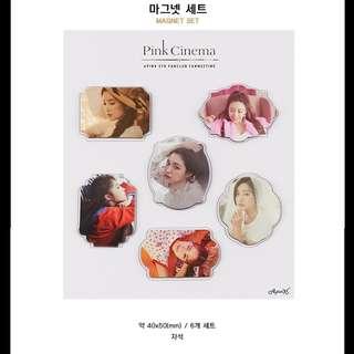 【Korea Buying Service】Apink Pink Cinema Official Magnet Set