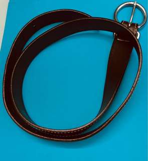 Brown Leather GAP Belt