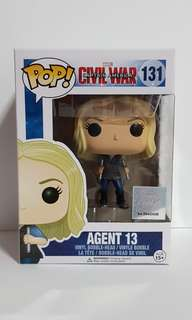 Funko POP Marvel Captain America Civil War Agent 13 #131