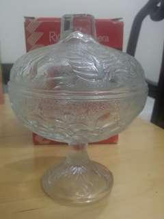 意大利Rio復古玻璃糖果盅(舊版收藏,未使用過)
