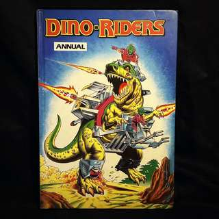 DINO-RIDERS Hardcover Annual UK (Marvel, 1990)