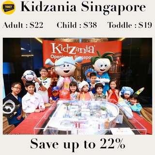 Kidzania Singapore 🇸🇬