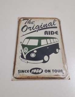 Vintage wall decoration board