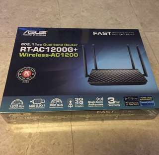 ASUS RT-AC1200G+ brand new set