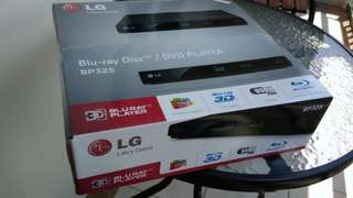LG 3D Bluray/DVD/USB/MKV Player