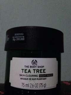 TEA TREE SLEEPING MASK TBS ORIGINAL