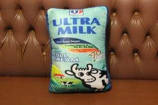 Bantal karakter susu ultra milk vanilla