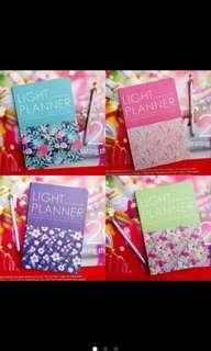 Floral Light Planner