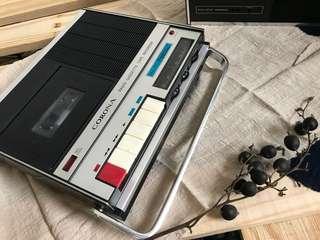 平躺式錄音收音機