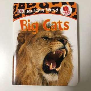 Big Cats - DK Amazing World