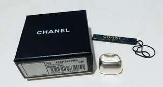 Chanel ring 925 純銀 介指 戒指