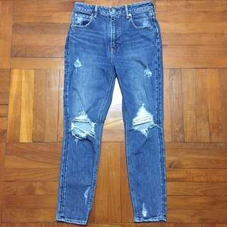 Sly jeans Mid to high rise size 26