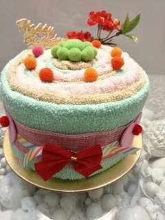 Handmade towel Cake