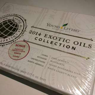 Young Living Exotic Oils 2014 collection NETT