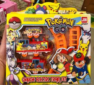 Pokemon train track set