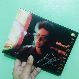 James Reid PALM DREAMS (signed) cd album