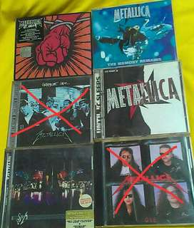 Metallica double disc & single album