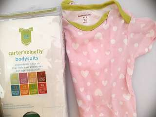🆕️ Carters Rompers 24 mths - Pink ♥️