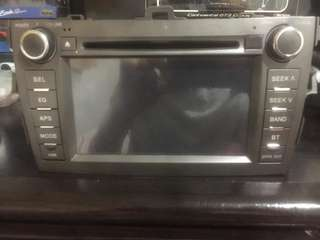 Toyota Altis 10th Gen OEM Touchscreen Headunit