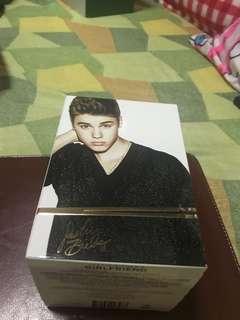 Memorabilia Justin Bieber's Girlfriend perfume