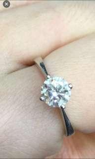 🈹️18k金鑽石戒指 GIA 70份實物好閃 平售$10800 超值