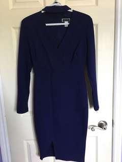 Long Sleeve Dress w/ Choker