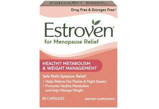 [IN-STOCK] Estroven Weight Management | Menopause Relief Dietary Supplement | Safe Multi-Symptom Relief | Helps Reduce Hot Flashes & Night Sweats* | Helps Manage Weight*|  Drug Free & Estrogen Free** | 30 Caplets