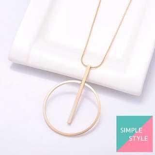 項鍊 款號: #AY0001 ( Simple Style HK )
