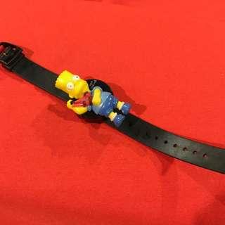 Vintage 1990s Bart Simpson digital watch