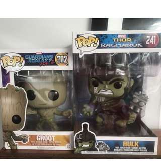 10 inch Funko Pops from Popcultcha