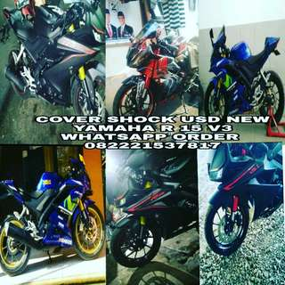 Cover Shock USD new Yamaha R 15 v3
