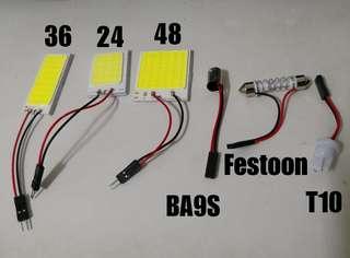 24/36/48 COB SMD White LEDs