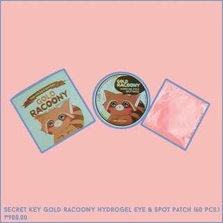 Gold Racoony Hydro Gel Eye & Spot Patch