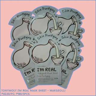 TonyMoly I'm Real Mask Sheet - Makgeolli