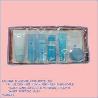 Laneige Moisture Care Travel Kit