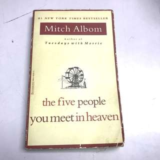 Five people you meet in heaven mitch albom