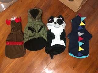 BULK PET DOG / CAT CLOTHES JACKET COSTUME