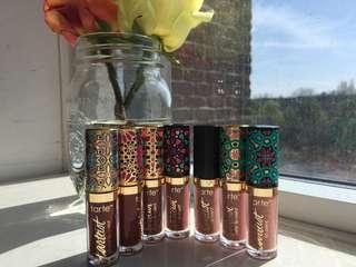 Tarte lip paint mini set