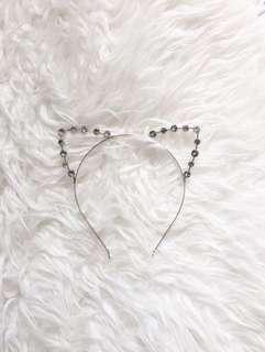 🌟 Bejewelled 🌟🐱Cat Ear Headband