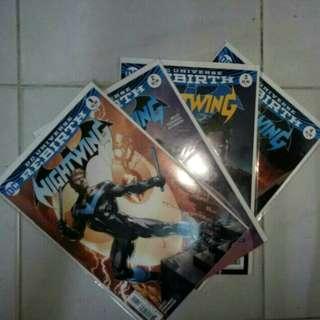 DC COMICS REBIRTH NIGHTWING SET #1 - 4