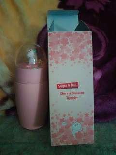 粉紅控貓咪保溫瓶