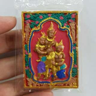 Petch phrayathorn khmer Magic Spell Hand Painted Lucky Charm