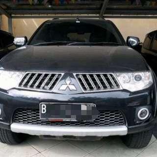 Pajero 2012 exceed hitam diesel