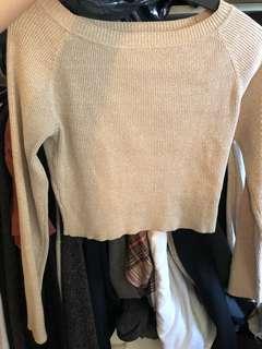 Body con long sleeve shirt