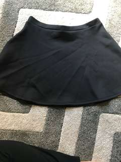 Black Flowing Skirt Valleygirl