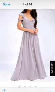 Beautiful dress in xs