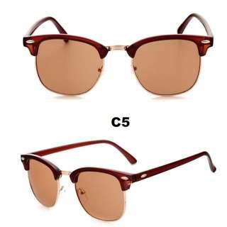 Brand New - Semi-Rimless Women's Sunglasses